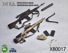 COO Models 1/6 M14A1 Wood and M14DMR Short Sand Set