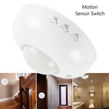360° Degree Recessed PIR Sensor Detector Ceiling Occupancy Motion Light Switch
