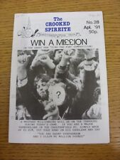 Apr-1991 Chesterfield: The Crooked Spireite  No.28 - Independent Football Magazi