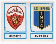 figurina CALCIATORI PANINI 1982/83 NEW numero 569 GROSSETO IMPERIA