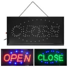 Boshen 2 in1 Open / Closed Business Sign Led Animated Neon Light Restaurant Shop