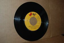 R.B. HUDMAN: LOOK AT GRANNY RUN RUN & STANDING INVITATION; 123 RECORDS MINT- 45