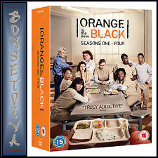 ORANGE IS THE NEW BLACK - COMPLETE SEASONS 1 2 3 & 4  *** BRAND NEW DVD BOXSET**