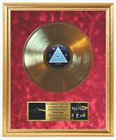 Pink Floyd The Dark Side Of The Moon 1973 Framed Gold Vinyl Record
