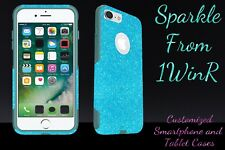 "Otterbox Commuter Series Custom Glitter Case for 5.5"" iPhone 7 Plus Frost/Teal"