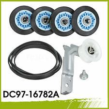 Repair Drum Support Roller &Belt &Idler Pulley Kit DC97-16782A For Samsung Dryer