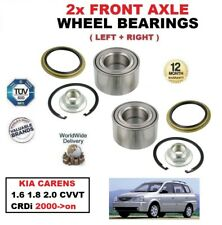 FOR KIA CARENS 1.6 1.8 2.0 CVVT CRDi 2000->on FRONT LEFT & RIGHT WHEEL BEARINGS
