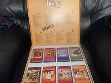 THE BEATLES BOX SET FROM LIVERPOOL 8 TAPES CASSETTES LIMITED EDITION AWESOME FAB