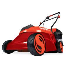 Sun Joe Cordless Lawn Mower | 14 inch | 28V | 5 Ah | Brushless Motor (Red)