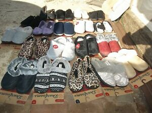 Dearfoams Women's Slide-in or Regular Style Slippers NWT!