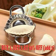 1 x Pastry Tool Cutter Pie Dough Dumpling Ravioli Stainless Steel Maker Mould