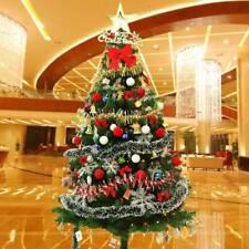 6FT 1.8M Bushy Pine Artificial Christmas Tree Colorado Spruce Metal Stand Xmas