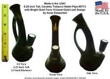 US Hookah Water Smoking Tobacco Hookah Shisha Glass Niki Pipe #0713, Made In USA