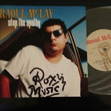 "Raoul McLay 7"" vinyl Stop The Apathy"