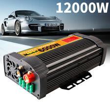 Solar Power Inverter 12000W Peak 12V DC To 110V AC Modified Sine Wave Converter