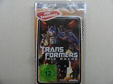 Los Transformers venganza (PSP) nuevo embalaje original alemán ***