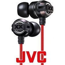 JVC HA-FX3X XTREME XPLOSIVES Aluminum body In-Ear Deep Bass Earbuds Earphones BK