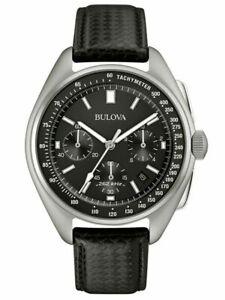 Bulova Men's Watch Special Edition Lunar Pilot Chronograph Black Dial 96B251