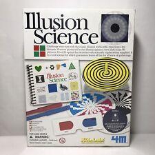 Kidz Labs Illusion Science Optical Illusion Kit (2006, 4M) - Sealed