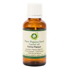 Pure Papaya Seed Oil Carica Papaya Cold Pressed Uncut Natural For Skin