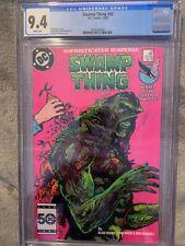 Swamp Thing #43 Cgc 9.4 NM DC Comics (1985) Alan Moore story