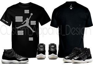 Custom T-Shirt to Match Air Jordan Retro 11 Jubilee 25th Anniversary Sneakers