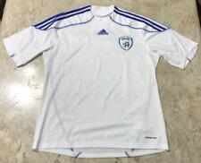 Rare Jersey Adidas Israel National Team Soccer Football White Size L