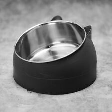400Ml Tilted Cat Bowl Stand Food Water Feeding Bowl Pet Dog Cat Feeder Dishes