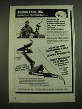1987 Oneida Labs Screaming Eagle 600 Bow Advertisement
