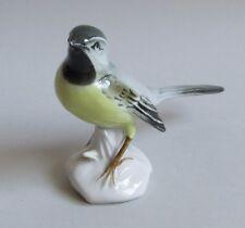 Allemagne. Karl Ens. Mésange porcelaine décor polychrome au naturel, XXe siècle