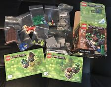 LEGO Minecraft Micro World 21102 Complete Set In Box