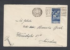 ITALY 1932 MILAN SLOGAN CANCEL COVER TO MUNICH GERMANY