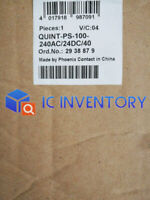 Phoenix Power Supply Unit 2938879 QUINT-PS-100-240AC/24DC/40 New In Box