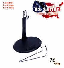 ZC Toys 1/6 Scale Action Figure Stand U & C Hook For Hot Toys Phicen Kumik ❶USA❶