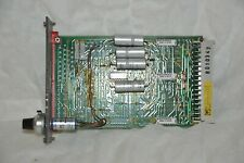 Leybold DRV 01 Printed Circuit Control Board - Used Condition
