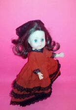 """7.5""""1968 Spanish Doll New Bright Industries Co. No. 7013"""