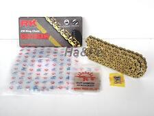 Nietschloss RK Motorradkette X-Ring Gold Schwarz Teilung 520 XSO112 Glieder