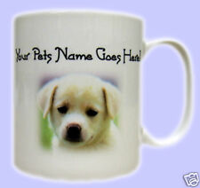 Photo Text Mug. Printed gift mugs personalised with words and favourite pet pic.