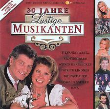 30 JAHRE LUSTIGE MUSIKANTEN - COMPILATION / 2 CD-SET - TOP-ZUSTAND
