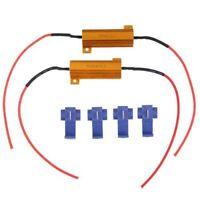 2 Pieces Resistance 50W 6ohm pour Clignotant LED DC 12V H4T3 XH