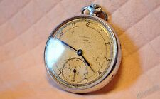MOLNIJA Pocket watch 1951 Chistopol OPEN FACE MEN'S 15 Jewels USSR