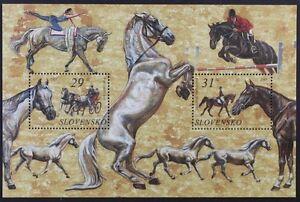 Z779 SLOVAKIA 2005 Beautiful mini-Sheet, Horses, Acrobatics etc Mint NH