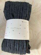 Anthropologie New Merino Wool Blend Grey Tights SM