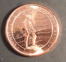 1 Militia armed with guns   Coins • 1 oz each .999 Fine Copper Bullion