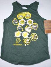 Girl Rivalry Thread Orange UO Oregon Ducks Green Tee Tank Top Shirt L 10/12