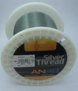 Bagley ZAN14G03000 14 Lb Test Silver Thread An40 Copolymer Line 3000 Yd Gr 14823