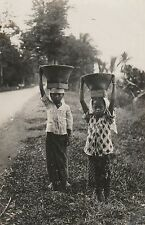 * DUTCH EAST INDIES (Nederlands-Indie) - Children (Photo Postcard)
