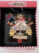 Mary Engelbreit ~ Queen For The Day Ornament Christmas Collection Door Hang Nip
