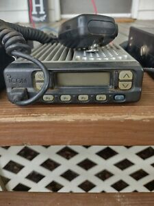 Cb radio ham radio ICOM MOBILE TWO WAY RADIO unit with MIC works free shipping