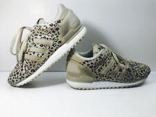 574939074 Adidas Men s Sz 8.5 ZX 700 Originals Running Shoes Leopard Khaki Black  B34330